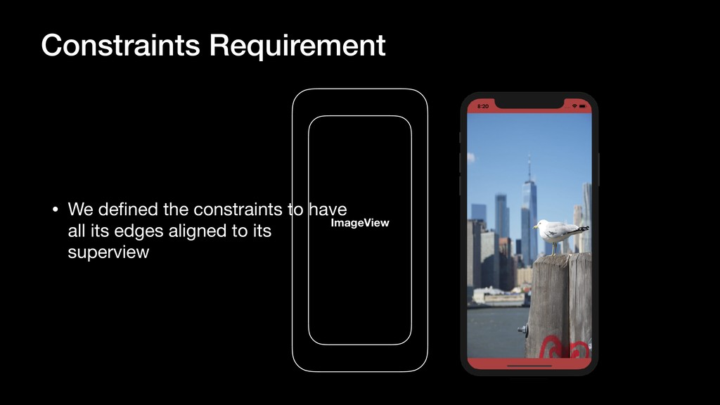 Constraints Requirement • We defined the constra...