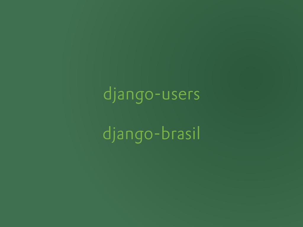 django-users django-brasil