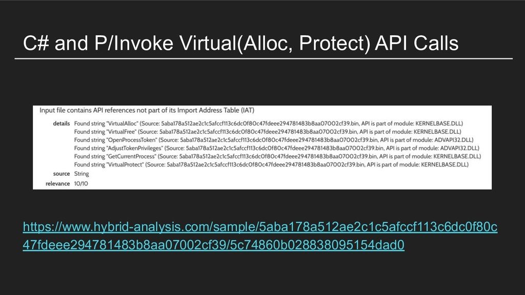 C# and P/Invoke Virtual(Alloc, Protect) API Cal...