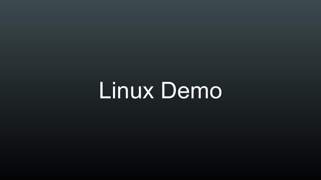 Linux Demo