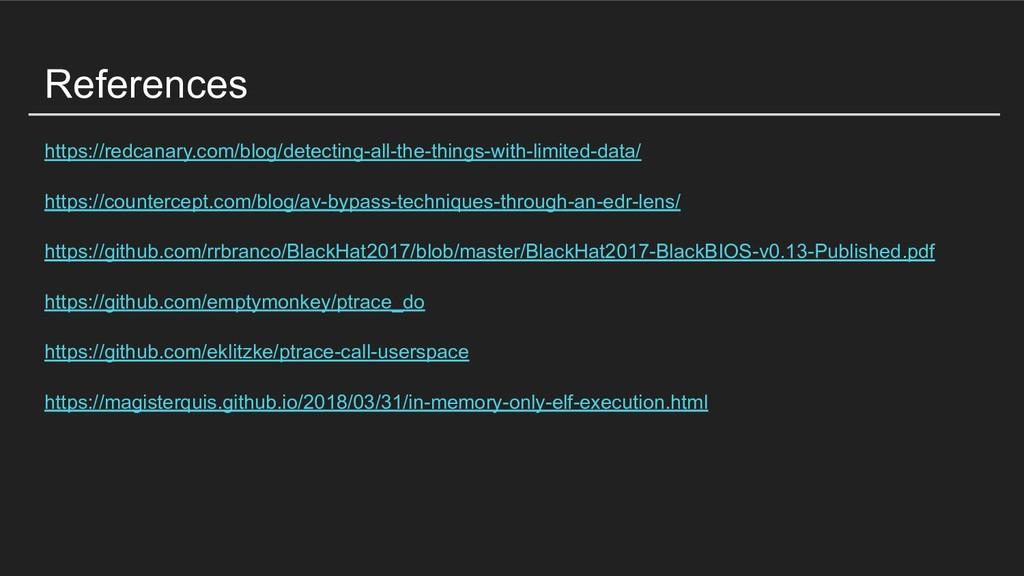 References https://redcanary.com/blog/detecting...