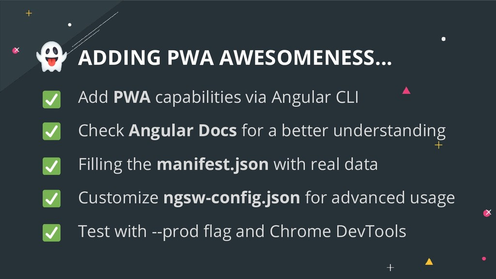 ADDING PWA AWESOMENESS... Add PWA capabilities ...