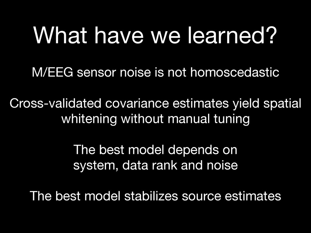 What have we learned? M/EEG sensor noise is no...