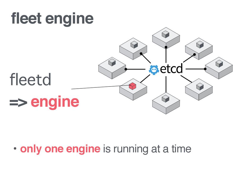 fleet engine • only one engine is running at a ...