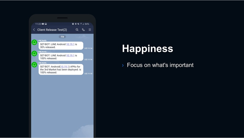 Happiness › Focus on what's important