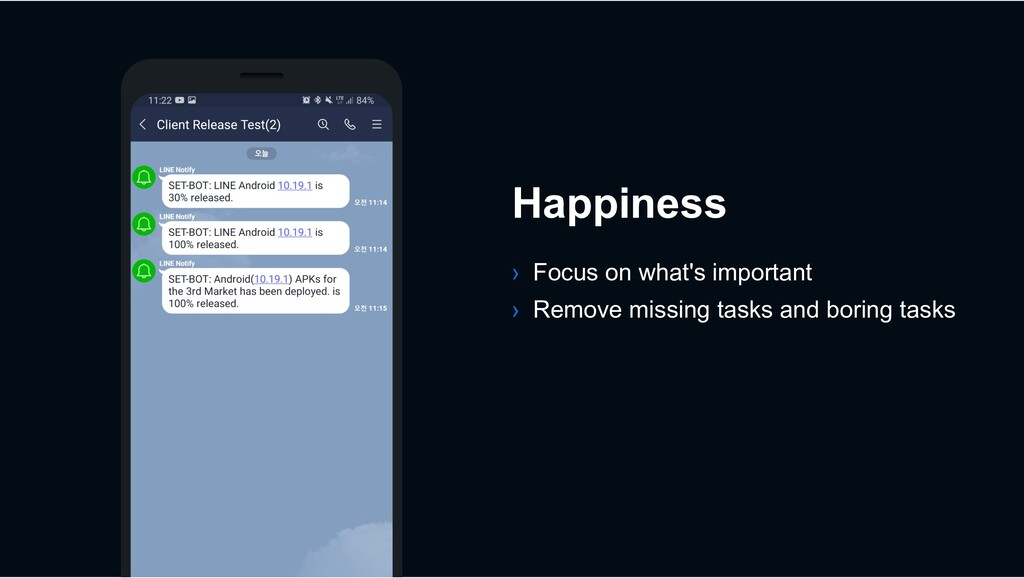 Happiness › Focus on what's important › Remove ...