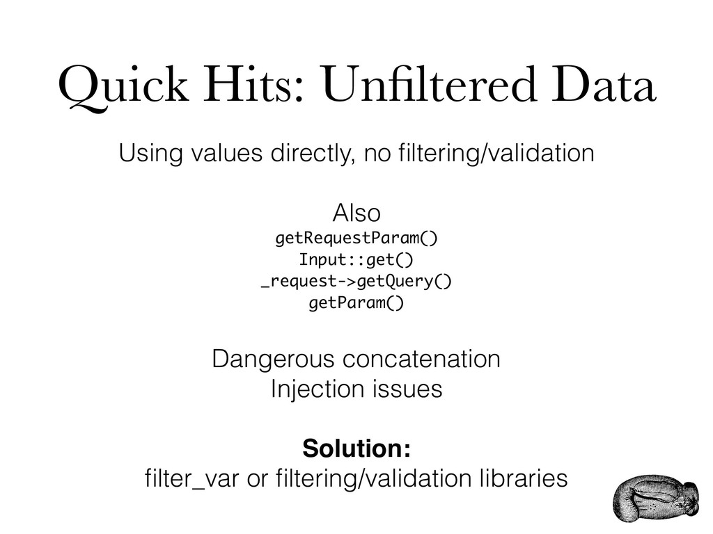 Quick Hits: Unfiltered Data Using values directl...