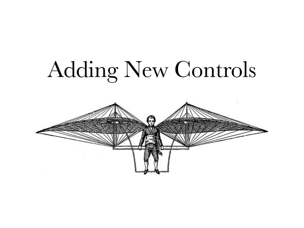 Adding New Controls