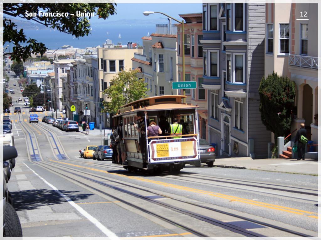 San Francisco – Union 12