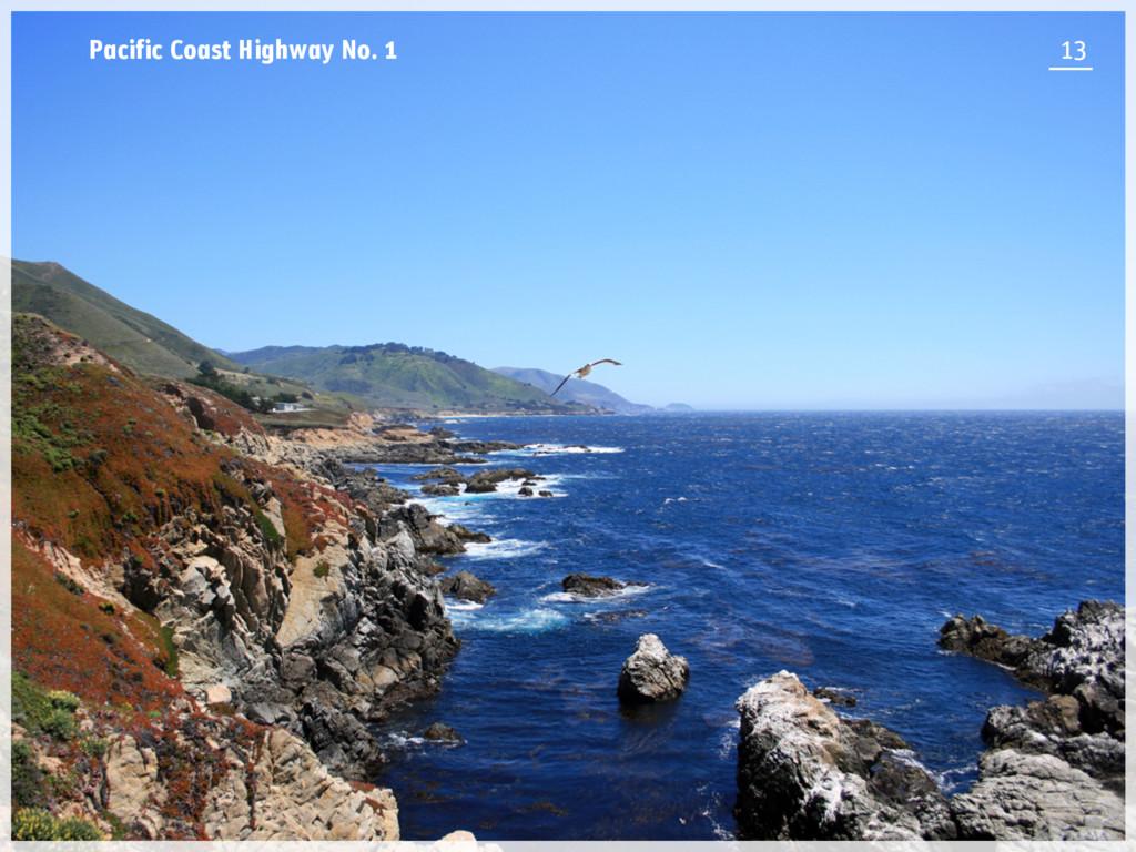 Pacific Coast Highway No. 1 13