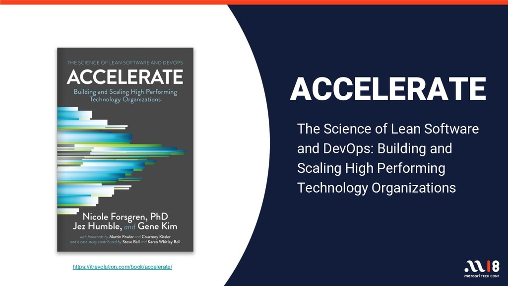 https://itrevolution.com/book/accelerate/ ACCEL...