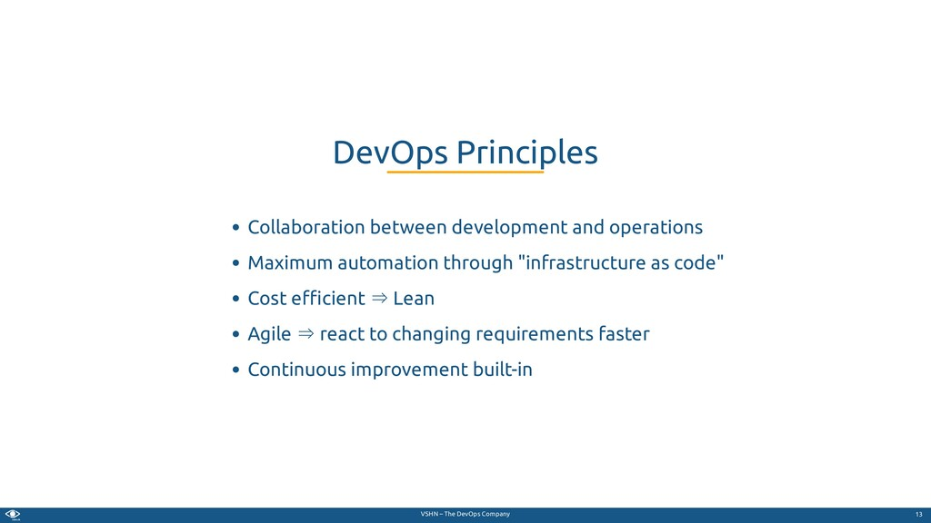 VSHN – The DevOps Company Collaboration between...