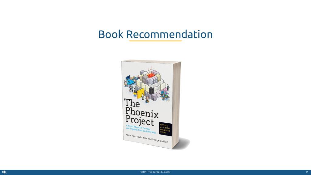VSHN – The DevOps Company Book Recommendation 15