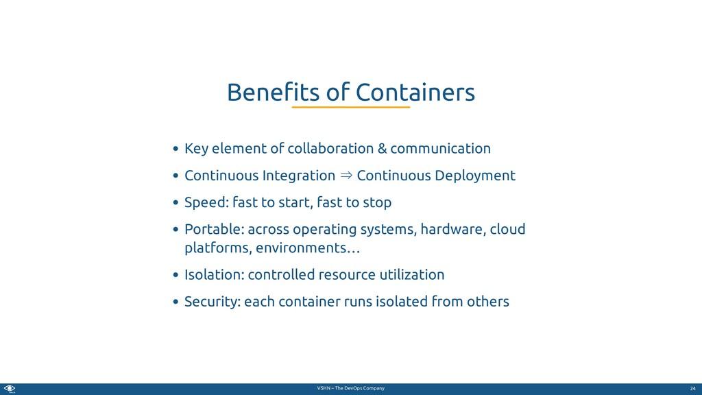 VSHN – The DevOps Company Key element of collab...