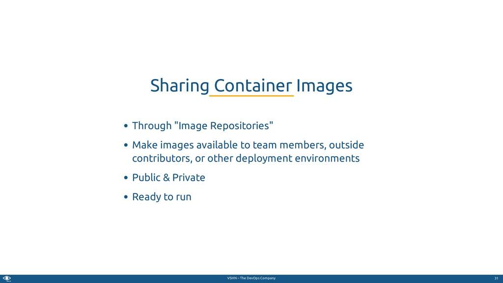 """VSHN – The DevOps Company Through """"Image Reposi..."""