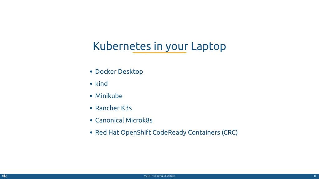 VSHN – The DevOps Company Docker Desktop kind M...