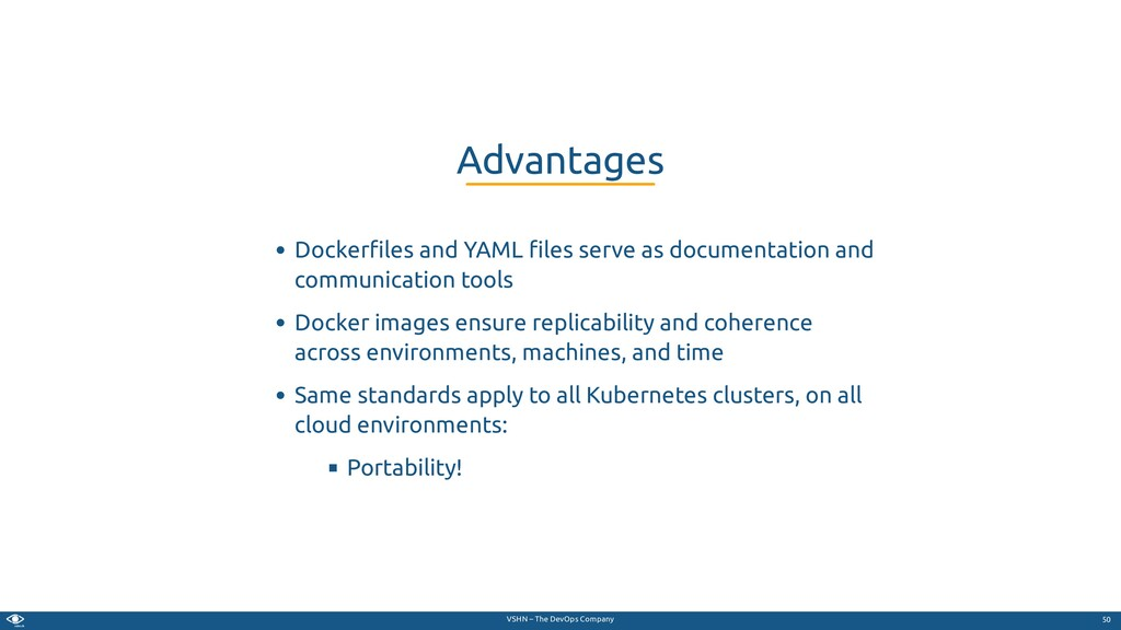 VSHN – The DevOps Company Docker les and YAML l...