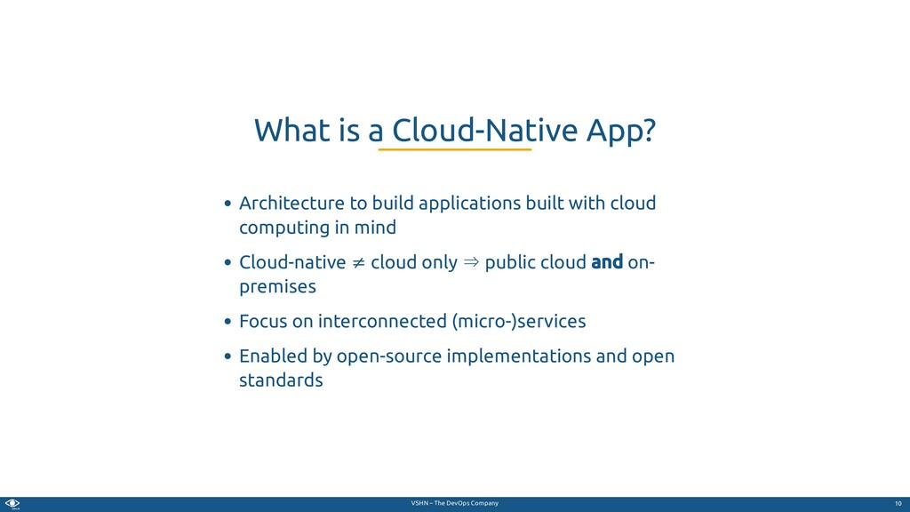 VSHN – The DevOps Company Architecture to build...