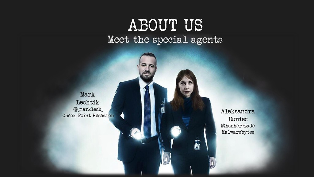 ABOUT US Meet the special agents Mark Lechtik A...