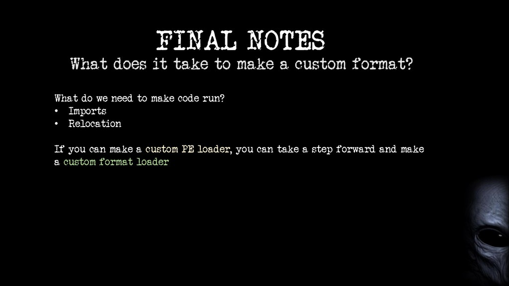 FINAL NOTES What does it take to make a custom ...
