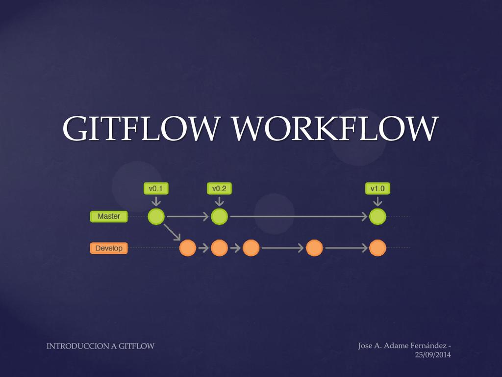 GITFLOW WORKFLOW