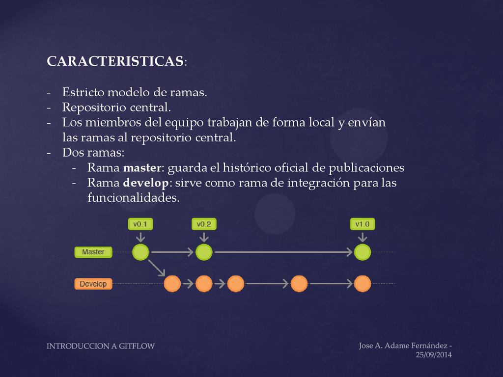 CARACTERISTICAS: - Estricto modelo de ramas. - ...