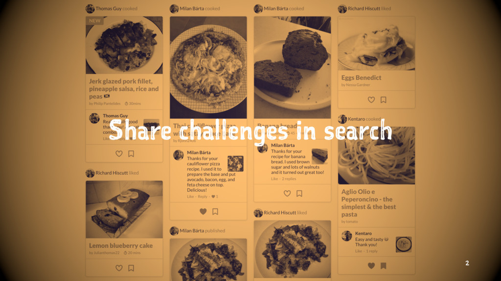 Share challenges in search 2