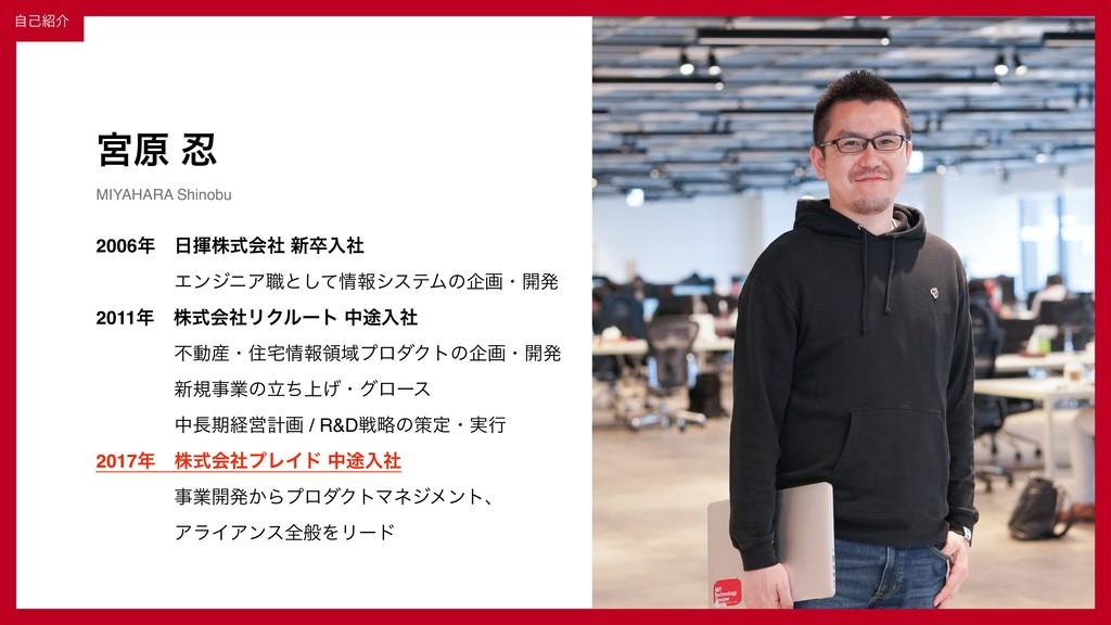 ɹɹʛɹɹ© 2019 PLAID Inc. 2 ٶݪ  MIYAHARA Shinobu ...