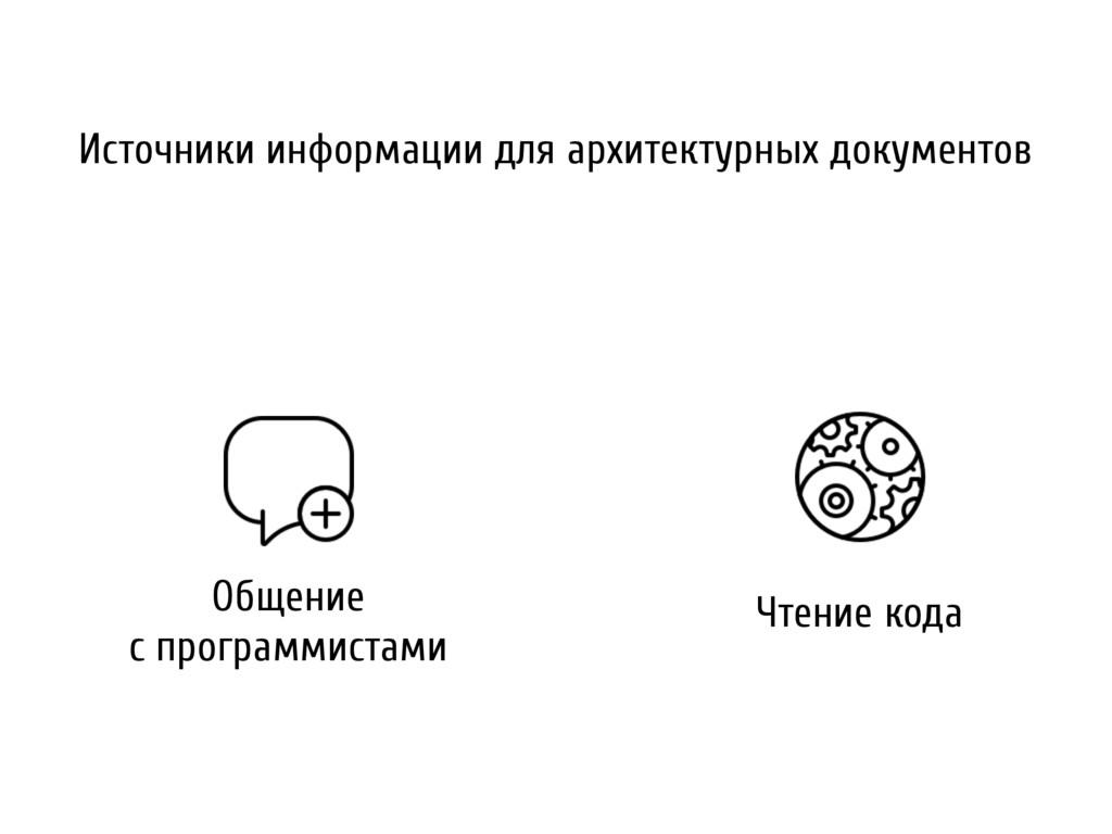 Общение с программистами Чтение кода Источники ...