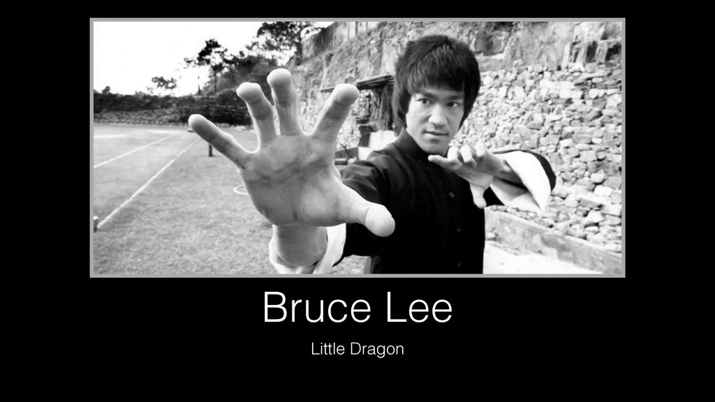 Bruce Lee Little Dragon