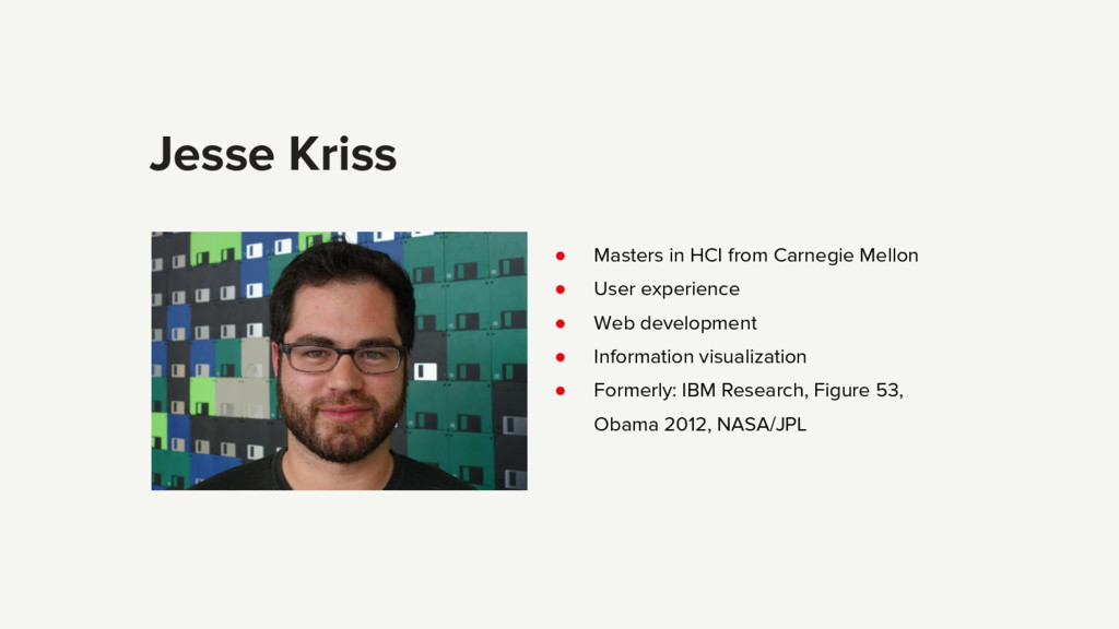 ● Masters in HCI from Carnegie Mellon ● User ex...
