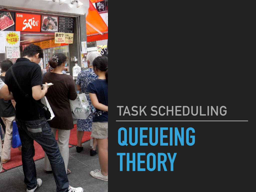 QUEUEING THEORY TASK SCHEDULING