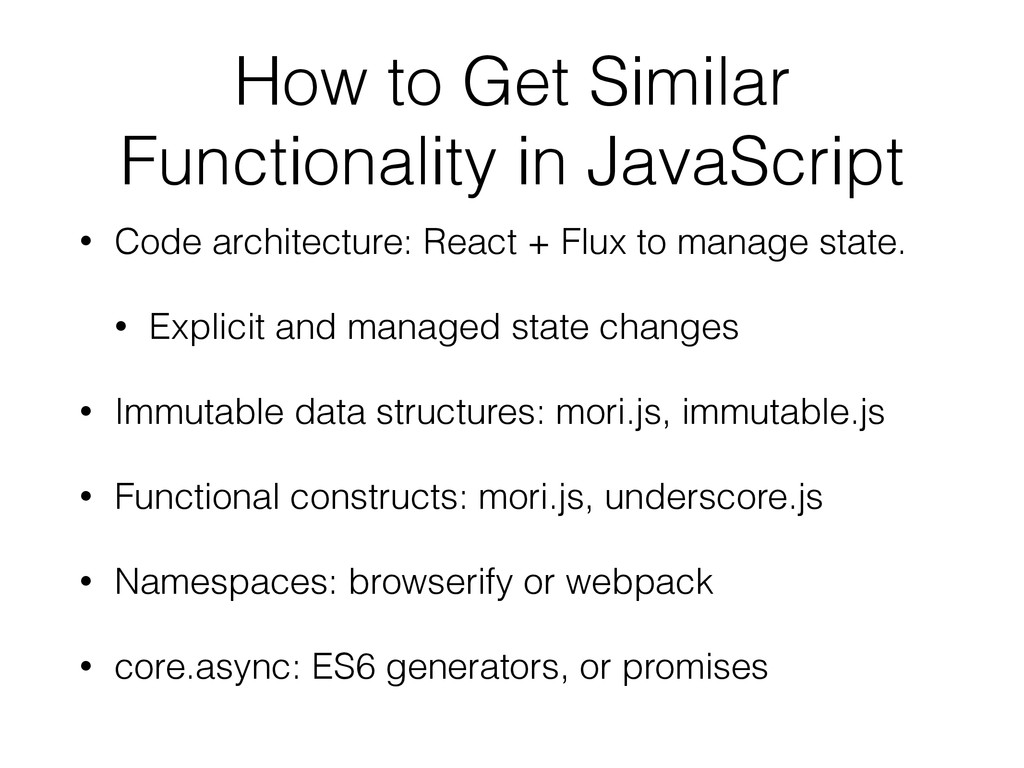 How to Get Similar Functionality in JavaScript ...