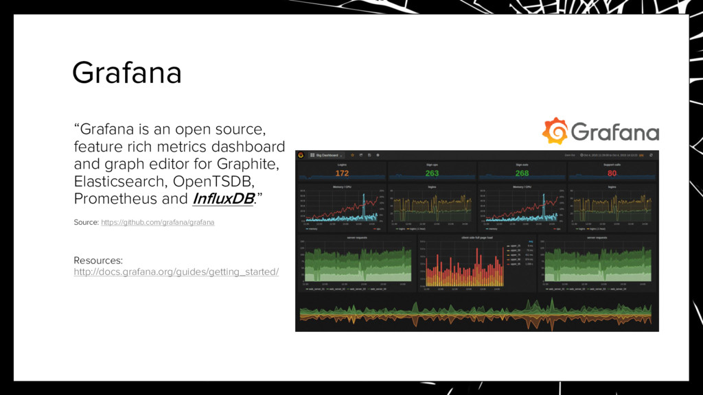 "Grafana ""Grafana is an open source, feature ric..."