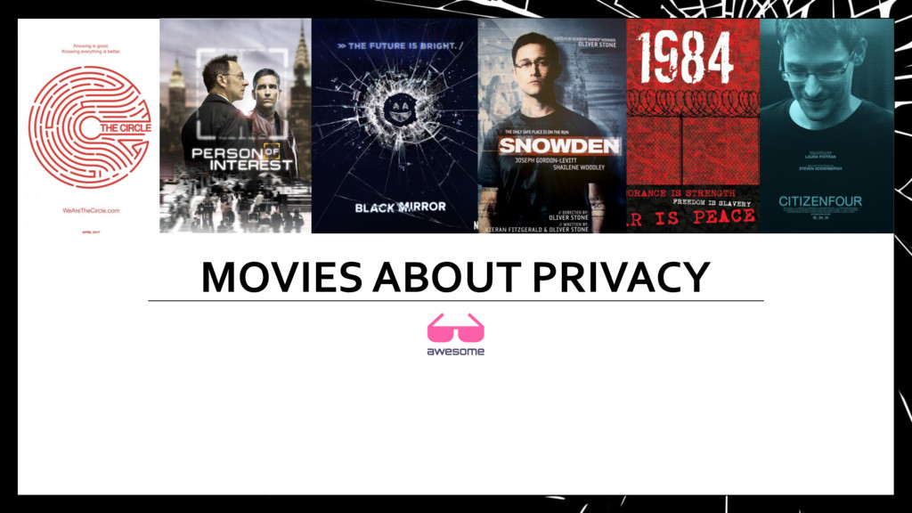 MOVIES ABOUT PRIVACY