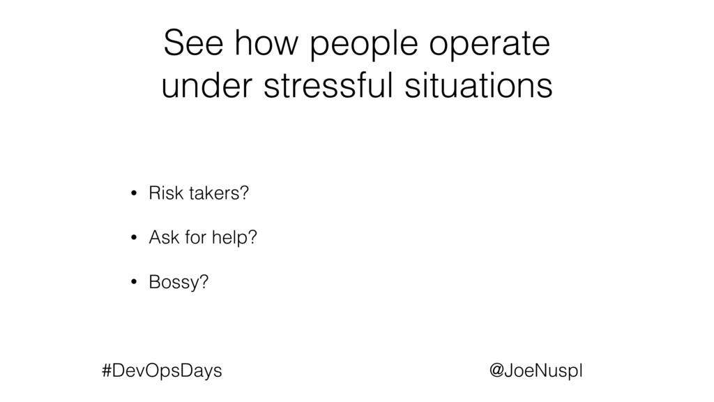 @JoeNuspl #DevOpsDays See how people operate un...
