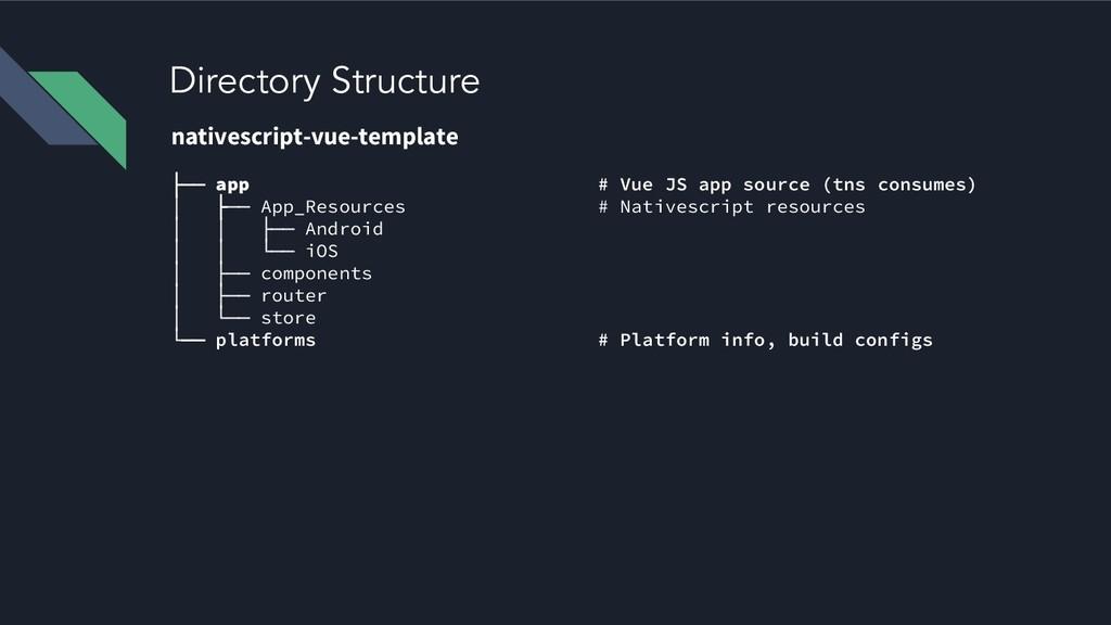 Directory Structure nativescript-vue-template ├...