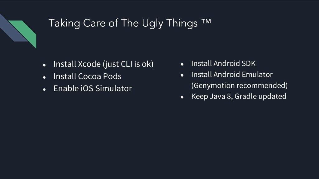 Taking Care of The Ugly Things ™ ● Install Xcod...