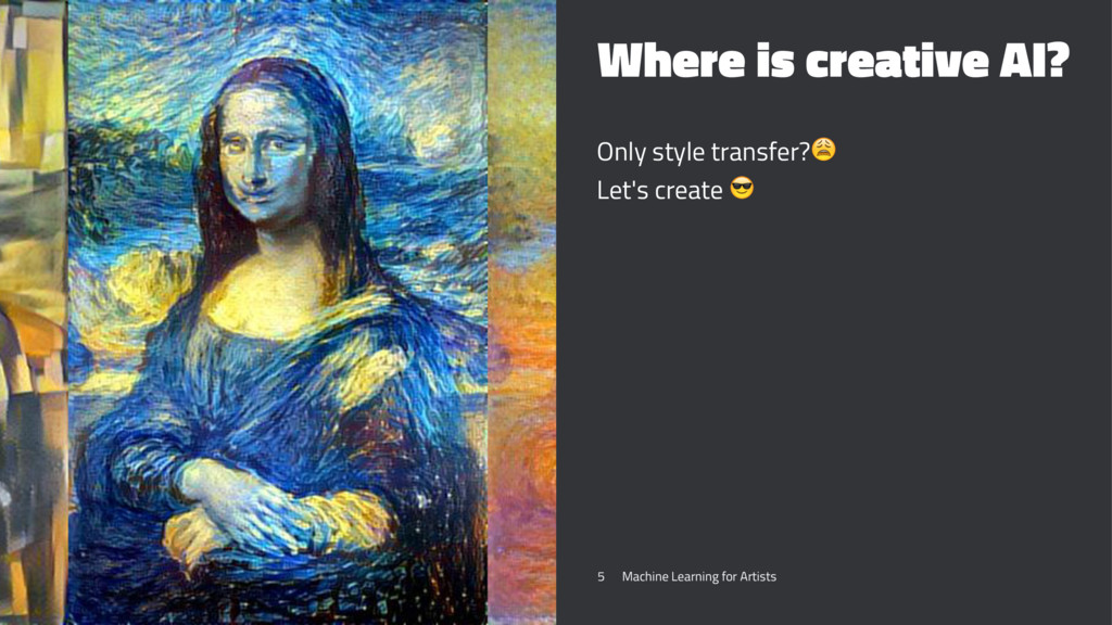 Where is creative AI? Only style transfer?! Let...