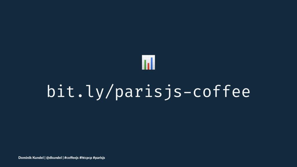 ! bit.ly/parisjs-coffee Dominik Kundel | @dkund...