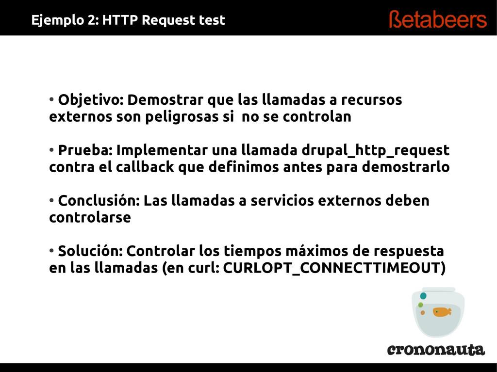 ● Objetivo: Demostrar que las llamadas a recurs...