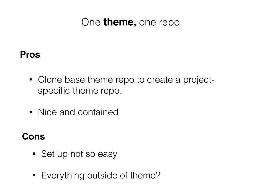 • Clone base theme repo to create a project- sp...