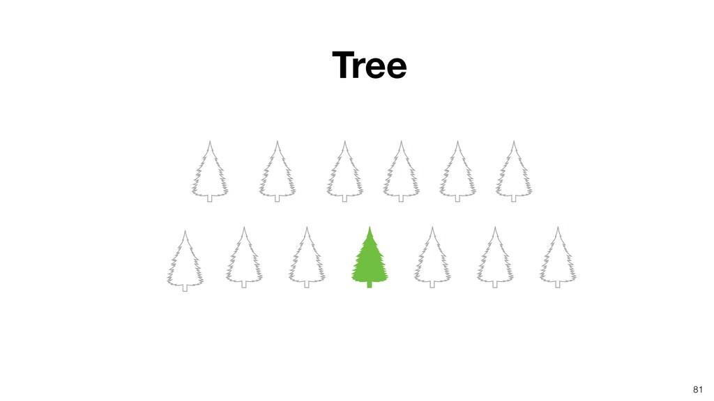 81 Tree