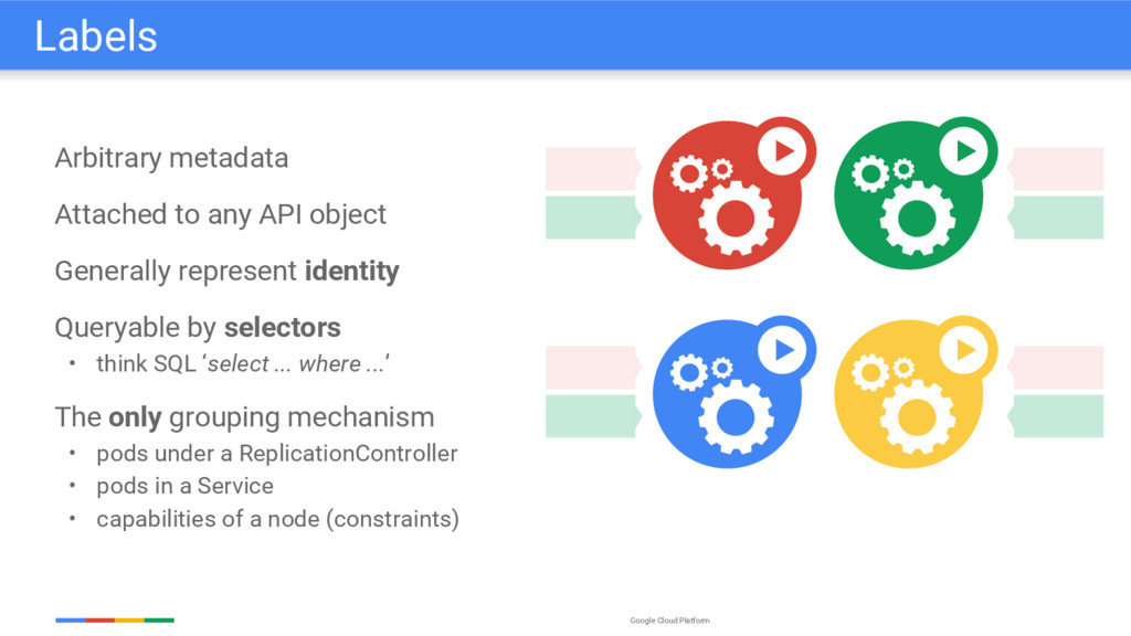 Google Cloud Platform Arbitrary metadata Attach...