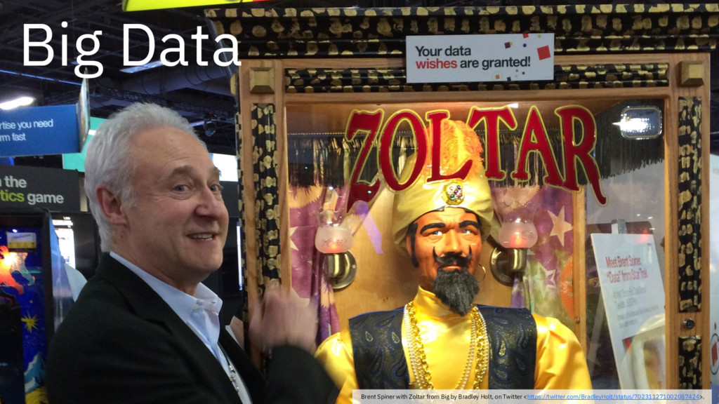 Brent Spiner with Zoltar from Big by Bradley Ho...