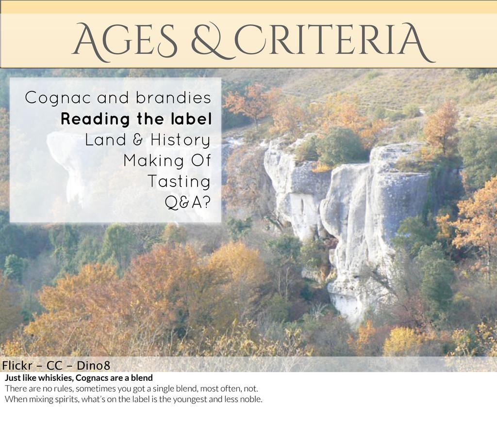 AgeS & CriteriA Flickr - CC - Dino8 Cognac and ...