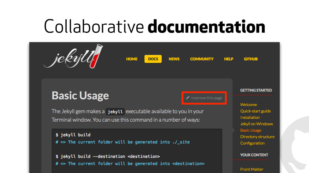 Collaborative documentation