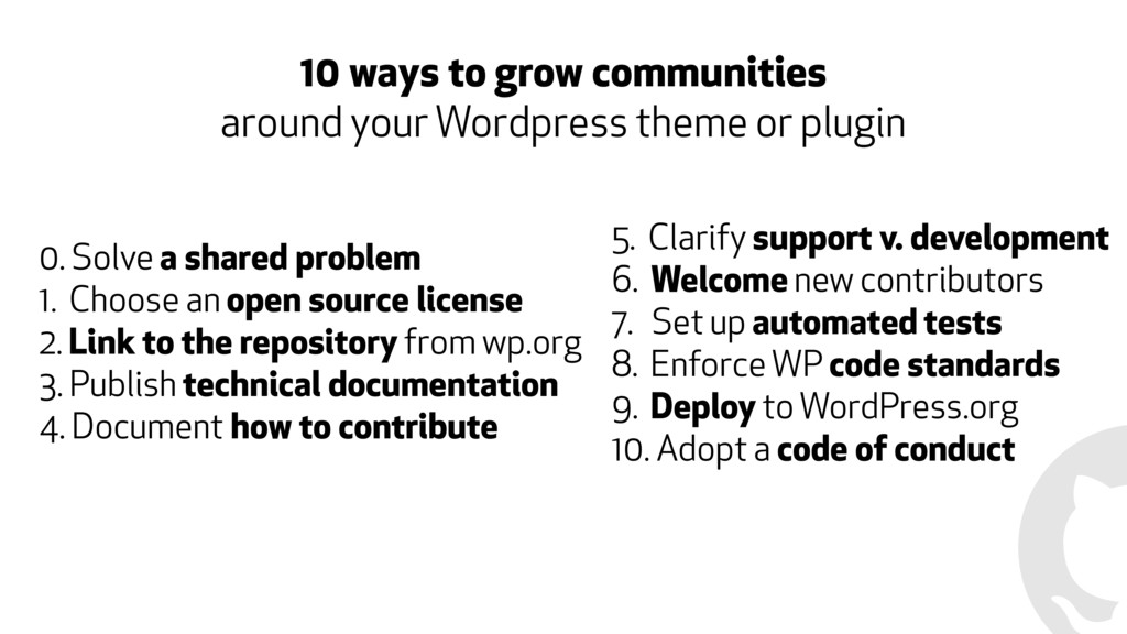 10 ways to grow communities 