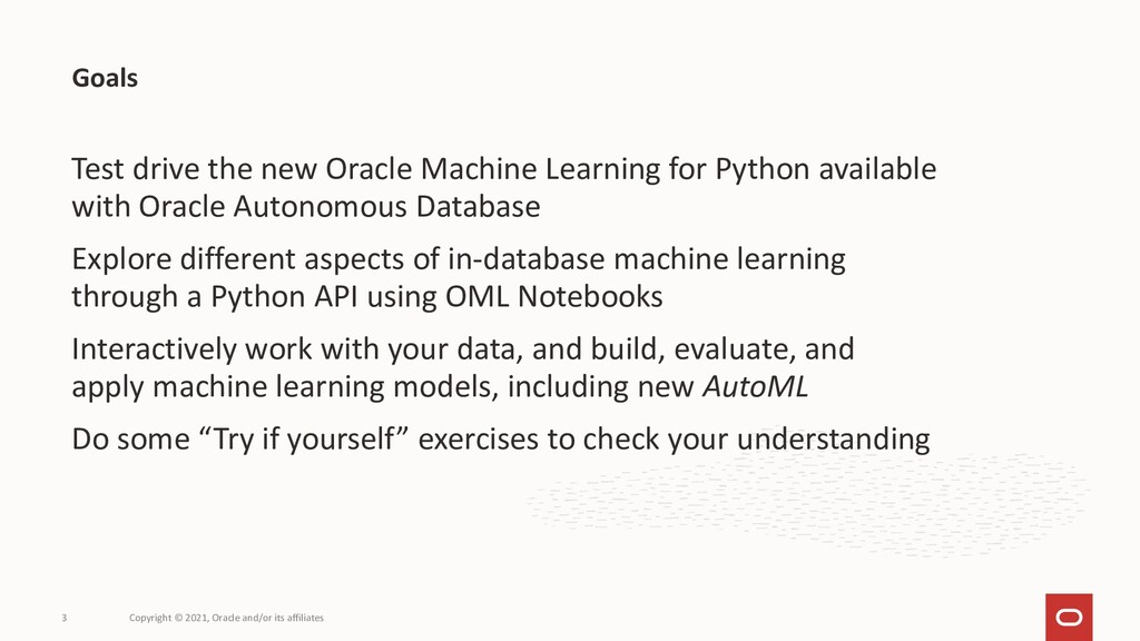 Test drive the new Oracle Machine Learning for ...