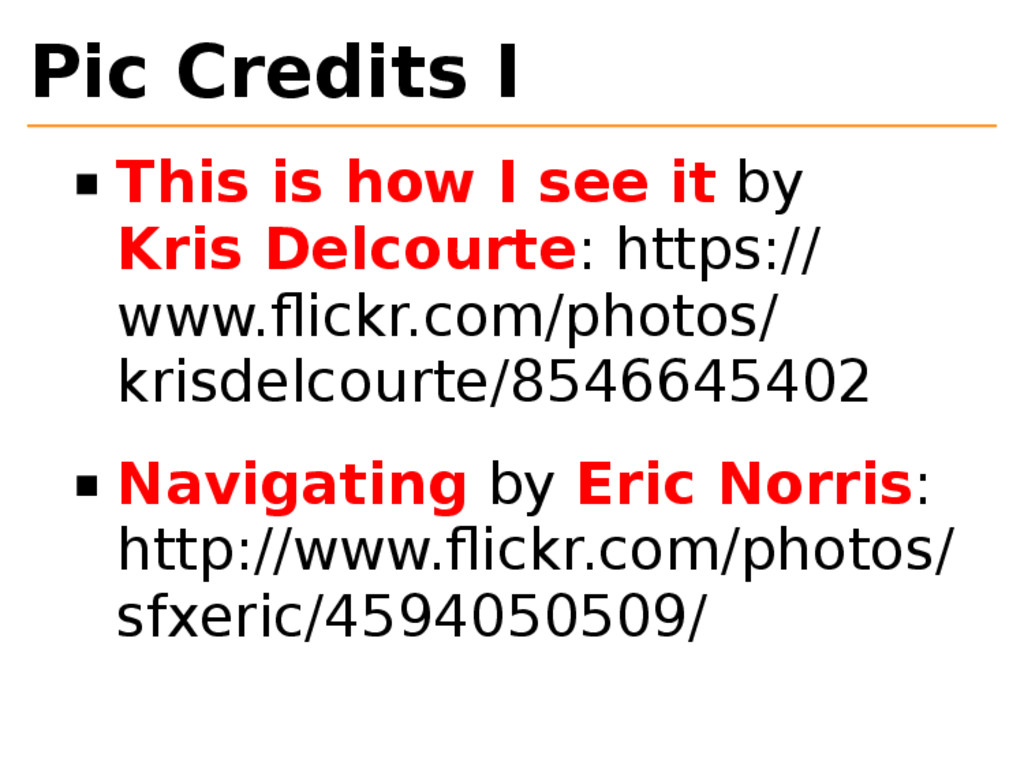 Pic Credits I This is how I see it by Kris Delc...